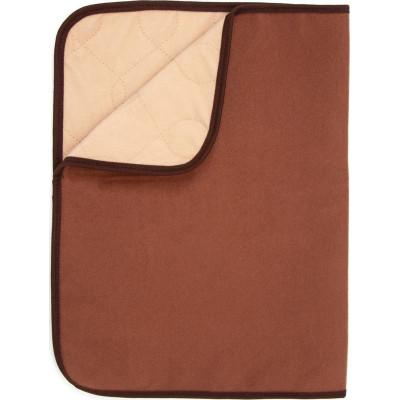 Подстилка впитывающая OSSO Fashion, для собак, многоразовая,коричневый, 40 х 60 см.