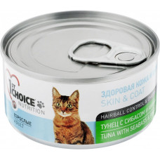 Корм 1st choice для кошек с тунцом, сибасом и ананасом