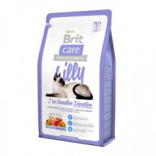 """Корм Brit Care для кошек """"Lilly"""" с чувствительным пищеварением, беззерновой с ягненком и лососем."""