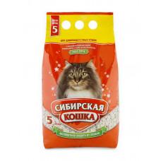 Наполнитель впитывающий для длинношерстных кошек Сибирская кошка, Экстра
