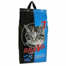 Наполнитель впитывающий для длинношерстных кошек Brava