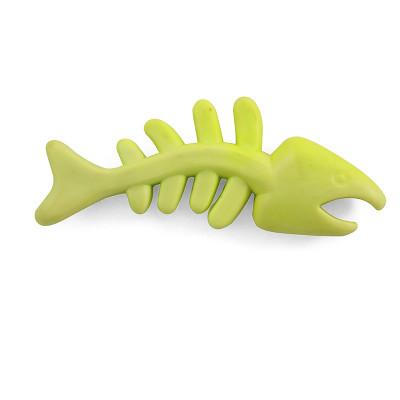 """Игрушка для собак из ц/литой резины """"Скелет рыбы"""", 125мм"""