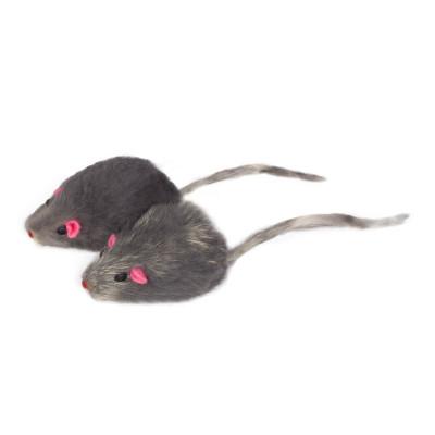 """Игрушка для кошек """"Мышка серая"""""""