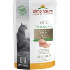 Almo Nature HFC для кошек, куриная грудка (пауч)