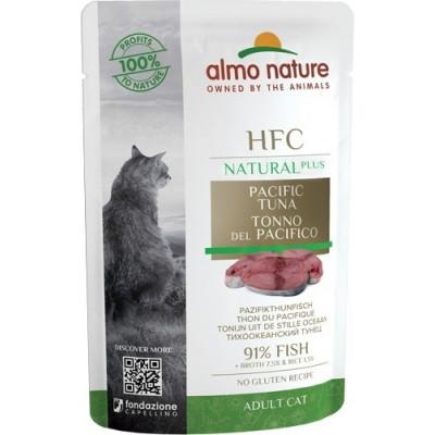 Almo Nature HFC для кошек, тихоокеанский тунец (пауч)