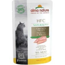 Almo Nature HFC для кошек, куриное филе (пауч)