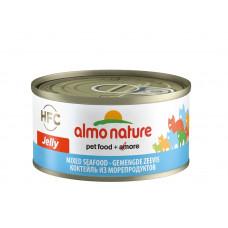 Almo Nature HFC Jelly консервы д/кошек с морепродуктами