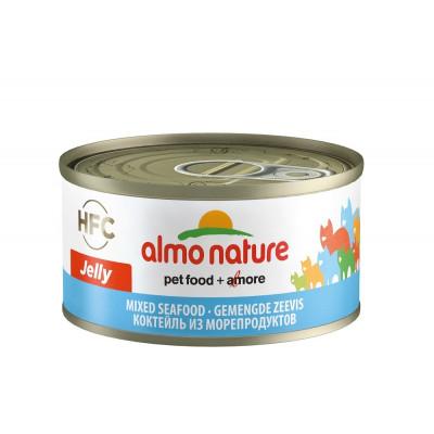 Almo Nature HFC консервы д/кошек с морепродуктами