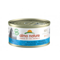 Almo Nature HFC Jelly консервы д/кошек, скумбрия