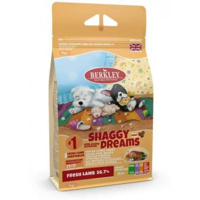 Корм Berkley №1 для щенков мелких и средних пород ягнёнок с овощами, фруктами и ягодами