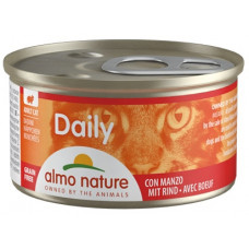 Almo Nature Daily для кошек с говядиной