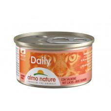 Almo Nature Daily для кошек с лососем