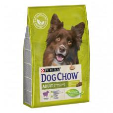 Корм Dog Chow для взрослых собак всех пород с ягненком