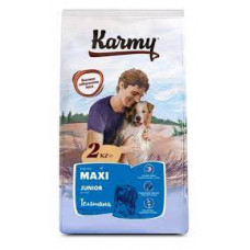 Корм Karmy для кошек с телятиной