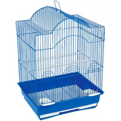 Клетка для птиц, голубая