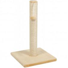 Когтеточка столбик на подставке, 80 см.