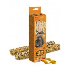 Little One. Палочки для хомяков, крыс, мышей и песчанок с фруктами и орехами.