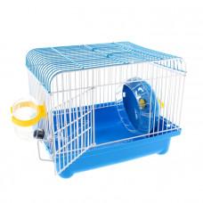 Маленькая клетка для грызунов, голубая
