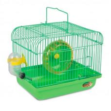 Маленькая клетка для грызунов, зелёная