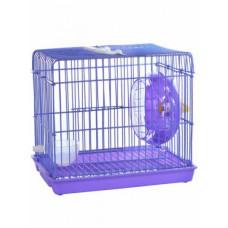 Маленькая клетка для грызунов, фиолетовая