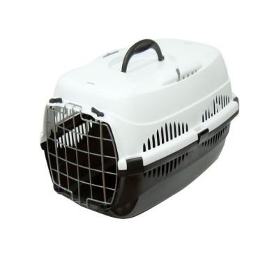 ZooM переноска для кошек и мелких собак с металлической дверцей 29*43*27.5 см