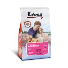 Корм Karmy Sensitive Mini для собак мелких пород с чувствительным пищеварением, лосось