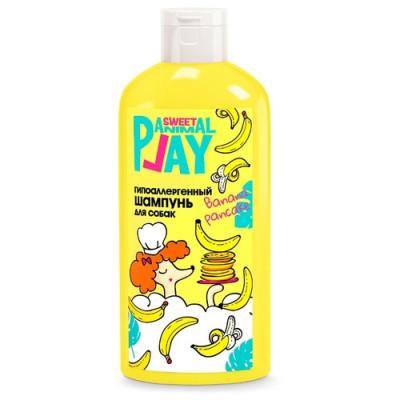"""ANIMAL PLAY Шампунь для собак и кошек гипоаллергенный """"Банановый панкейк"""", 300мл"""
