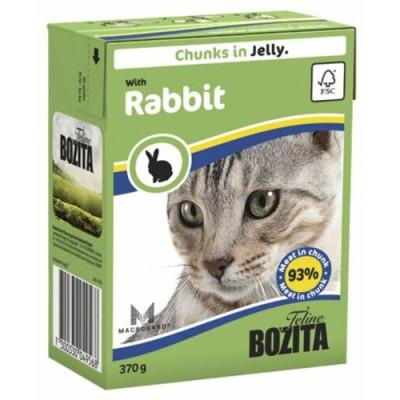 Bozita корм для кошек с кроликом в желе