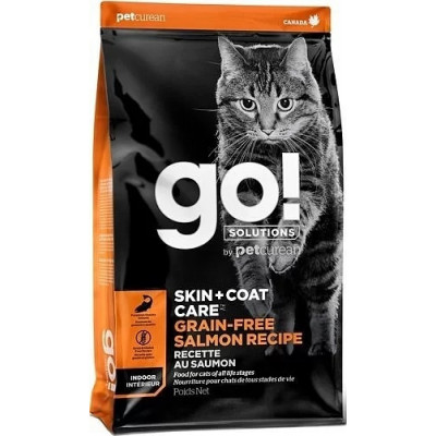 Корм GO! Natural Holistic для котят и кошек с лососем