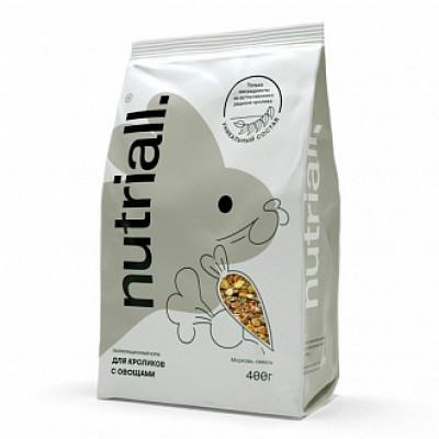 Nutriall Полнорационный корм для кроликов с овощами