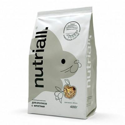 Nutriall Полнорационный корм для кроликов с фруктами