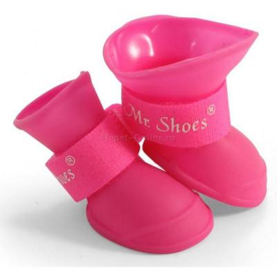"""Обувь для собак """"Ботинки резиновые"""" размер М"""