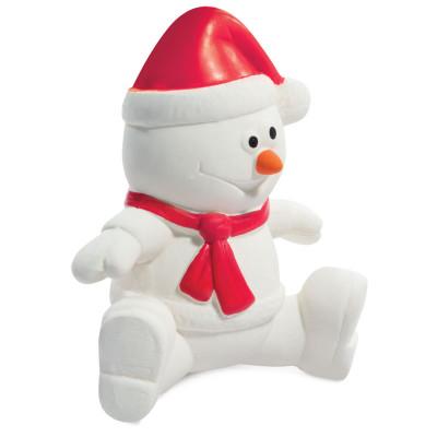 """Игрушка для собак из латекса """"Снеговик"""", 100мм"""