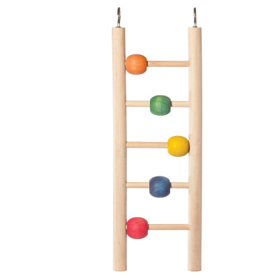 "Игрушка для птиц ""Лестница с шариками"", 235*70мм"