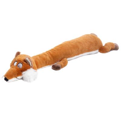 """Игрушка для собак GiGwi """"Лиса с большой и малой пищалкой"""""""