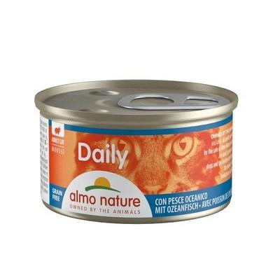 """Almo Nature Daily Menu для кошек """"Мусс с океанической рыбой"""""""