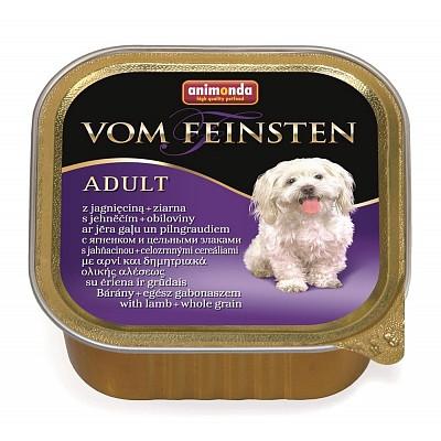 Animonda VOM FEINSTEN корм с ягнёнком и злаками д/взрослых собак