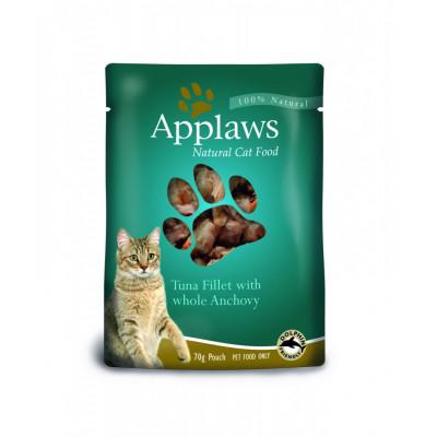 """Корм Applaws для кошек """"Тунец с анчоусами"""" (пауч)"""