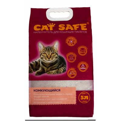 Наполнитель комкующийся для кошек Cat Safe