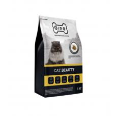 Корм Gina Denmark Cat Beauty для взрослых кошек с индейкой и рисом