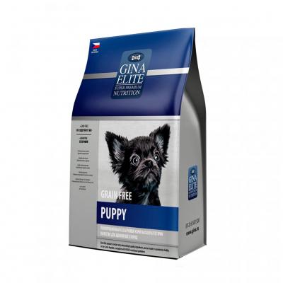 Корм Gina Elite Grain Free Puppy беззерновой для щенков всех пород