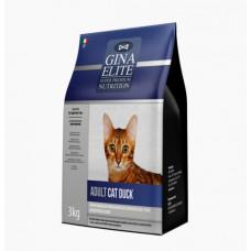 Корм Gina Elite Adult Cat Duck для взрослых кошек с уткой