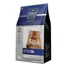 Корм Gina Elite Kitten Tuna для котят с тунцом