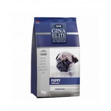 Корм Gina Elite Puppy для щенков всех пород с индейкой и рисом