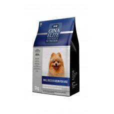 Корм Gina Elite Small Breed Dog для взрослых собак мелких пород с рыбой и рисом