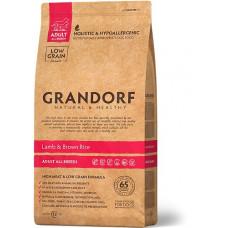 Корм Grandorf для собак всех пород ягненок с рисом