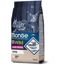 Корм Monge Cat BWild низкозерновой из мяса гуся для котят