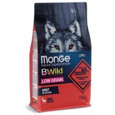 Корм Monge Dog BWild низкозерновой из мяса оленя для взрослых собак всех пород