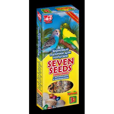 Seven Seeds Палочки для попугаев с витаминами и минералами