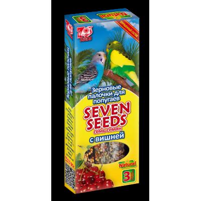 Seven Seeds Палочки для попугаев семь семян с вишней